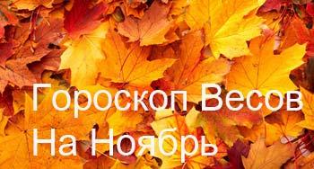 весы-ноябрь