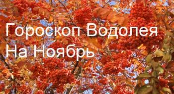 водолей-ноябрь