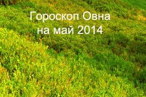 Гороскоп Овна на май 2014