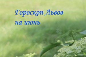 Гороскоп для Львов на июнь 2014